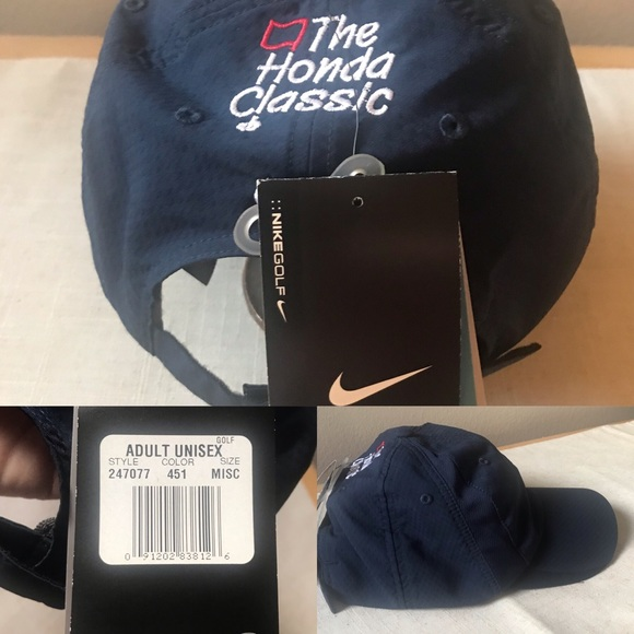 57b6833c9 NIKE GOLF | Mens Dri-Fit Golf Hat NWT Navy NWT